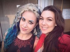 Alissa White-Gluz and Elize Ryd
