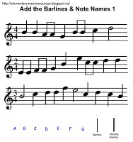 Add Bar Lines & Note Names (W7-W12)