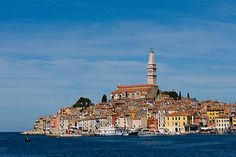 The town of Rovinj