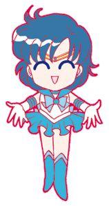 Sailor Mercury/ Mizuno Ami Chibi Images - Chibi Land