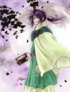 Keele Zeibel from Tales of Eternia illustration by Mutsumi Inomata