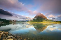 Swiftcurrent Morning by Henry Liu, via 500px