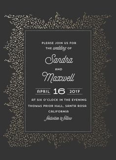 wedding invitations - everything shimmer by Anupama
