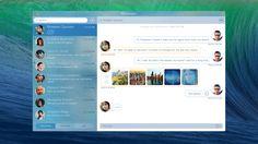 Messages.app concept by RamotionFollow:Twitter   Facebook   Pinterest   Behance
