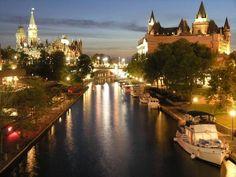캐나다 대사관 블로그 :: 킹스턴-오타와를 잇는 202km의 쉼없는 여정, 캐나다 리도 운하(Rideau Canal) 이야기