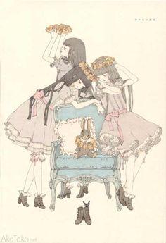"""akatako:  from """"Girls Kingdom""""by Kira Imai"""