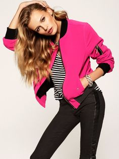 fashion-universes:    Edita Vilkeviciute in Juicy Couture's Holiday 2012 Collection