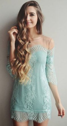 """"""" Love and Lemons Dress....."""" Screw the dress, I'm obsessed with her hair!"""