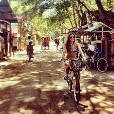 Gili - Trawangan... no car, no motor bike, just traditional vehicle..
