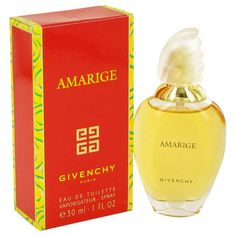 Amarige 1 oz Eau De Toilette Spray EDT 30 ml By Givenchy FOR WOMEN NEW IN BOX #SalvatoreFerragamo