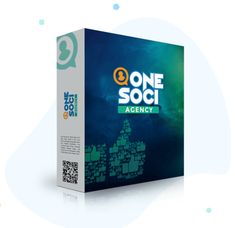 OneSoci Agency OTO And OTO Review :Brand new 1st to market easy to use social media management app that can be used to manage your own social media accounts or run your very own social media marketing agency all from within one platform!  #onesoci #onesocyagency #socialmedia #socialmediamarketing #localbusiness #locaagency #onlinemarketing Social Media Marketing Agency, Online Marketing, Affiliate Marketing, Digital Marketing, Social Media Poster, Media Campaign, Cloud Based, Promote Your Business, Management