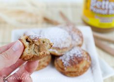 Peanut Butter-Filled Banana Ebelskivers <--- I don't know what those are but they sound delicious!!!