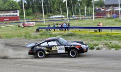 a classic porsche at full speed in the Midnight Sun Rally #Rallying #Porsche #Rally #Historic http://www.youtube.com/channel/UCJNAZ9OFsulr4ZATFJZjibQ