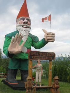 British Columbia. Oh, Canada, you are apparently very adept at producing large statues of things.