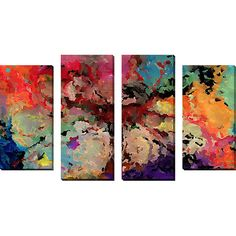 Found it at Wayfair - 'My Place of Rescue and Safety' by Mark Lawrence 4 Piece Painting Print on Wrapped Canvas Set
