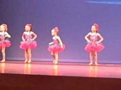 Age 3-4 Tap, Jolly Holiday, Spring 2012