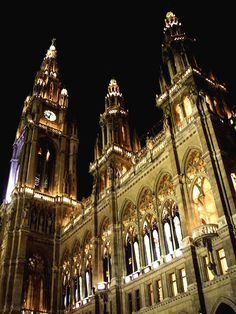 Vienna City Hall, Vienna, Austria Copyright: Natasha Riha