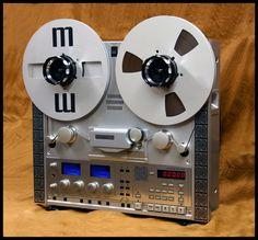 Reel to reel tape deck www.videoimageprod.co.uk