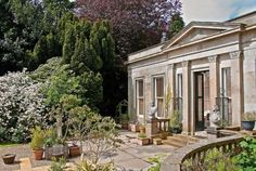 Built in Palladian style between after the plans of Archibald Simpson Concrete Fence Posts, International Real Estate, Mansions Homes, Amazing Architecture, Great Britain, Luxury Homes, Scotland, Castle, House Styles