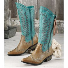 Studded Rodessa Boots - Western Wear, Equestrian Inspired Clothing, Jewelry, Home Décor, Gifts