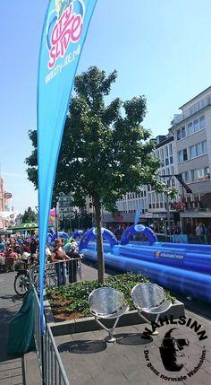City Slide - Mönchengladbach City, Fun, Travel, Water Slides, Oder, Germany, Viajes, Cities, Destinations