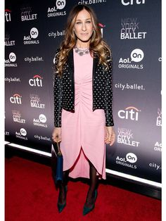 Sarah Jessica Parker attends the AOL On's 'City Ballet' premiere at Tribeca Cinemas, November 2013.