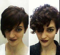20 Wunderschöne Kurze Frisuren für Lockiges Haar //  #Frisuren #für #Haar #kurze #Lockiges #Wunderschöne