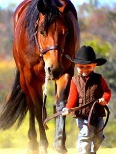 That will be my son when he gets older! He loves horses! :)