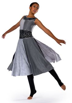 Available in: 67 Gray, 98 Sangria, True Colors. By AWCT. Worship Dance, Praise Dance, Worship The Lord, Lyrical Costumes, Ballet Costumes, Dance Outfits, Dance Dresses, Garment Of Praise, Costumes 2015