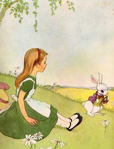 . Alice in Wonderland   written by Lewis Carroll, illustrated by Marjorie Torrey (1955) [6297984206_5a58688f0c_z4.jpg]