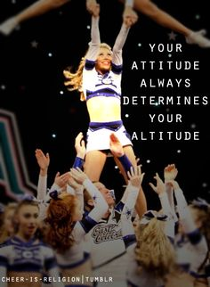 Good quote for flyers to remember as also bases and backs because they have to have confidence too!