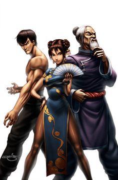SF Legends Chun-Li 3A by #UdonCrew on deviantART