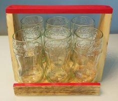 handmade six glasses cut from coca cola bottles di GARAGEbySilvio