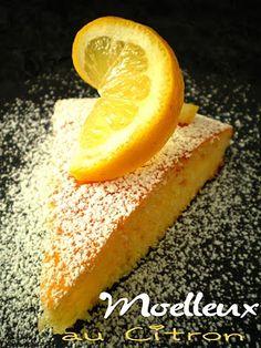 Pourquoi se priver quand c'est bon et léger?: Moelleux au citron (3.5 pts ww)