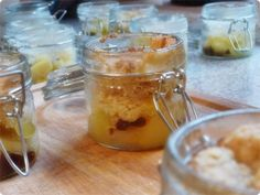Apple Crumble in a jar