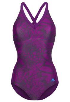 adidas Performance I WFAVES 1PC - Badeanzug - purple/solar blue - Zalando.de