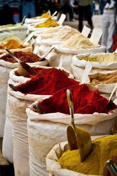 Spices in Tunisia