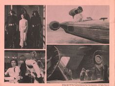 Star Wars original program inside front cover. Copyright 1977 by Twentieth Century-Fox Film Corporation. All Rights Reserved.