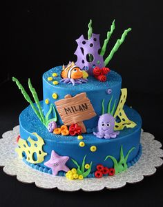 bccakes: Under the Sea Cake