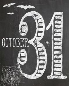 Free Halloween Printables -