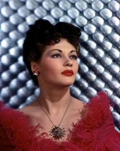 Yvonne De Carlo---This is who Im named after. My dad really liked her way back then, so thats where I got my name.