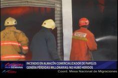 Por Más De 5 Horas Un Incendio Redujo A Cenizas Un Almacén Comercializador De Papeles Dejando Pérdidas Millonarias