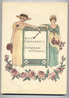 Kate Greenaway's illustrations for the book Language of Flowers