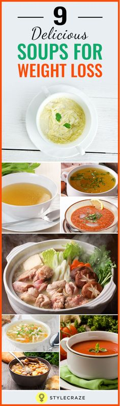 Soups can be an effective tool for weight loss. Here are different soups that aid in weight loss and how they work.