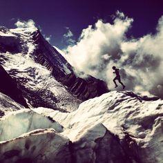 Picture: Running in a moving earth. ... v/ Kilian Jornet @kilianj