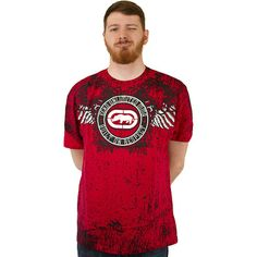 T-Shirt Ecko MMA Built on Respect red ★★★★★