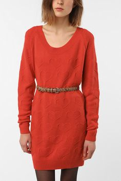 Numph Stella Heart Sweater $39.99