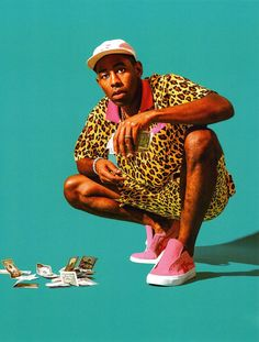 """Tyler, The Creator says he """"Ain't Got Time"""" in his new song. Tyler, the Creator's new studio LP Scum F*ck Flower Boy is only two days away, arriving this Odd Future, Golf Tyler, Tyler The Creator Wallpaper, Alternative Hip Hop, Arte Hip Hop, Golf Photography, Creative Photography, Editorial Photography, Fashion Photography"""