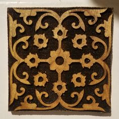 SCA Wood Block: Ottoman Design from Tokapi Palace Woodcut for   Etsy