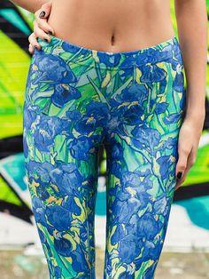 Irises Leggings, $75AUD